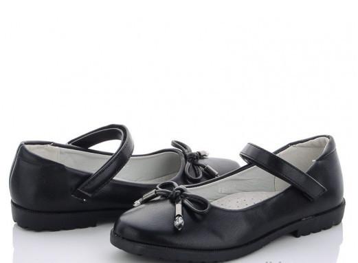 Туфли подросток черные M.L.V-FA 39-1