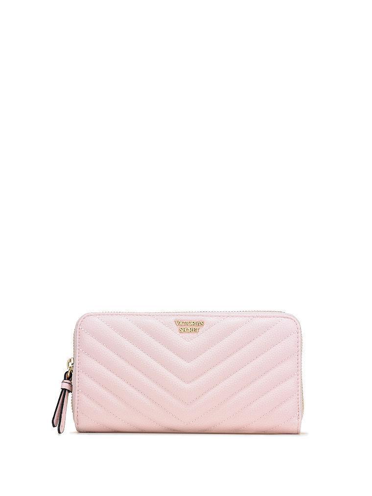 Большой женский кошелек Victoria's Secret  art788566 (Розовый)