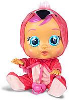 Лялька пупс плакса Cry Babies Fancy The Flamingo Doll Фламінго, фото 1