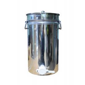 Бак (отстойник) для мёда 20 л (с алюминиевым краном)