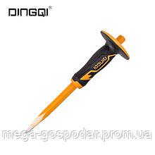 Зубило точечное DINGQI - 300х16 мм, с защитой