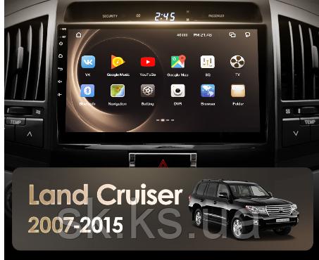 Junsun 4G Android магнитола для Toyota Land Cruiser 11 200 2007-2015