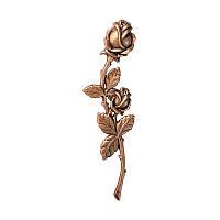 Троянди бронзова на пам'ятникCaggiati 29541/21*5,5