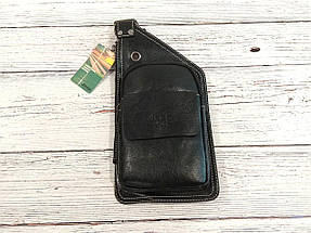Сумка-рюкзак на одно плечо, кобура, слинг Jeep Buluo. Черная / J 601 black, фото 3