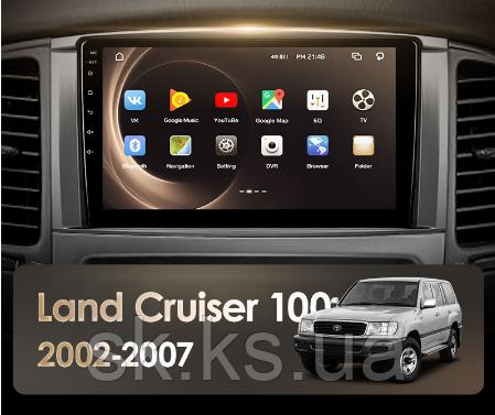 Junsun 4G Android магнитола для Toyota Land Cruiser LC 100 2002 - 2007