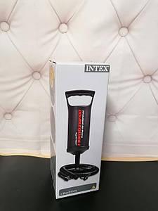 Зручний ручний насос, універсально підходить для більшості моделей Інтекс.