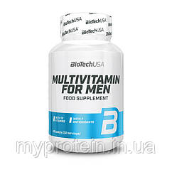 BioTech Чоловічі вітаміни Multivitamin for men men's Perfomance (60 tabs)