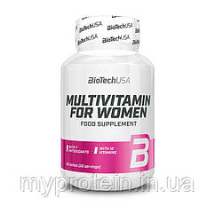 BioTech Женские витамины Multivitamin for Women (60 tabs)