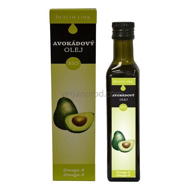 Масло авокадо Health Link органическое 250 мл