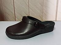 Кожаная женская обувь бордо, фото 1