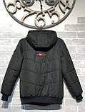 """Підліткова демісезонна куртка """"Boy"""" для хлопчиків від виробника, фото 2"""