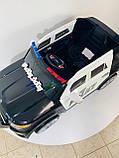 Джип электромобиль M 3259EBLR, Полиция, фото 3