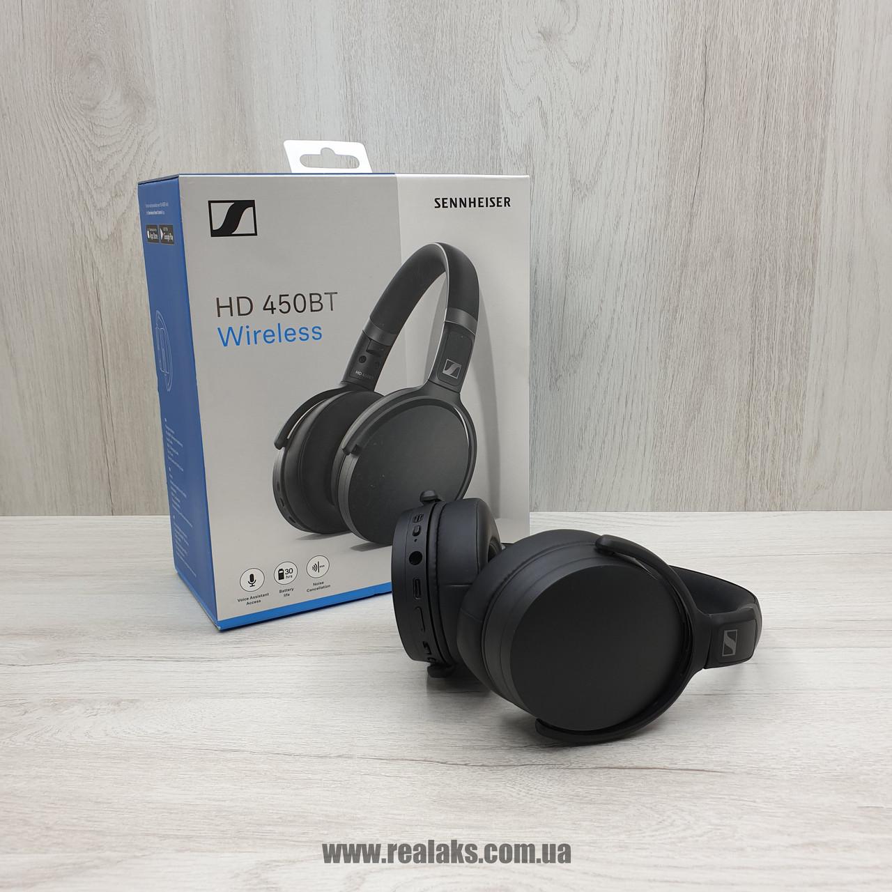 Наушники bluetooth SENNHEISER HD 450 BT (Black)