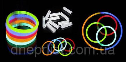 Светящаяся неоновая палочка - браслет, фото 2