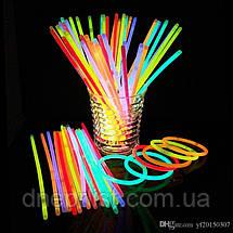 Светящаяся неоновая палочка - браслет, фото 3