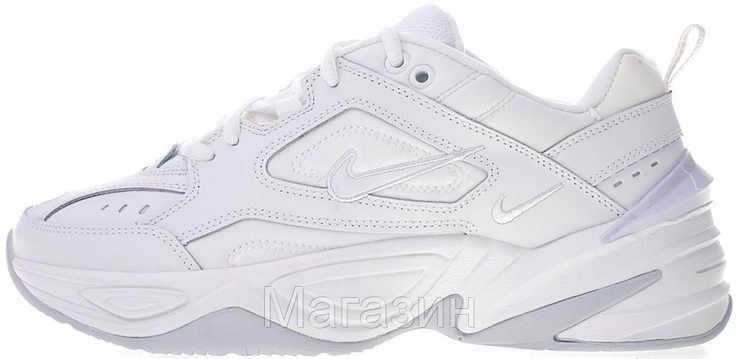Мужские кроссовки Nike M2K Tekno White (Найк Текно) белые