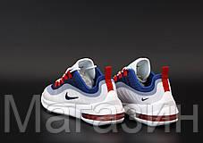Мужские кроссовки Nike Air Max Axis White/Blue Найк Аир Макс Аксис белые синие, фото 3