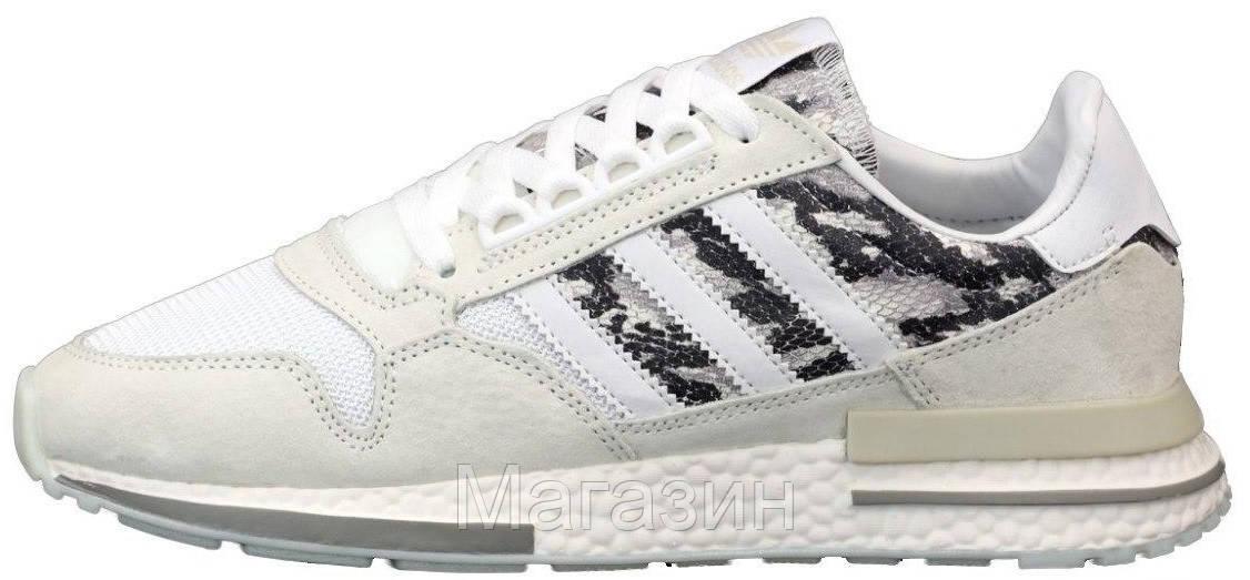 Мужские кроссовки adidas ZX 500 RM Beige / Camo Адидас ZX 500 бежевые