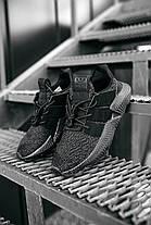 Мужские кроссовки Adidas Prophere Black Black Адидас черные, фото 2