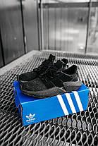 Мужские кроссовки Adidas Prophere Black Black Адидас черные, фото 3