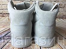 Мужские высокие кроссовки Adidas Tubular Invader 2.0 Grey (Адидас Тубулар) серые, фото 2