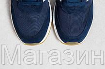 Мужские спортивные кроссовки Adidas Iniki Runner Boost Navy (Адидас Иники) синие, фото 3