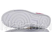 Женские кроссовки Nike Air Force 1 Low Shadow White Peach Black Hайк Аир Форс низкие белые разноцветные, фото 2