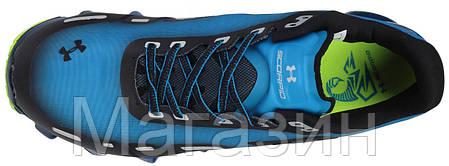 Мужские кроссовки Under Armour Scorpio Blue Андер Армор Скорпио синие/черные, фото 2