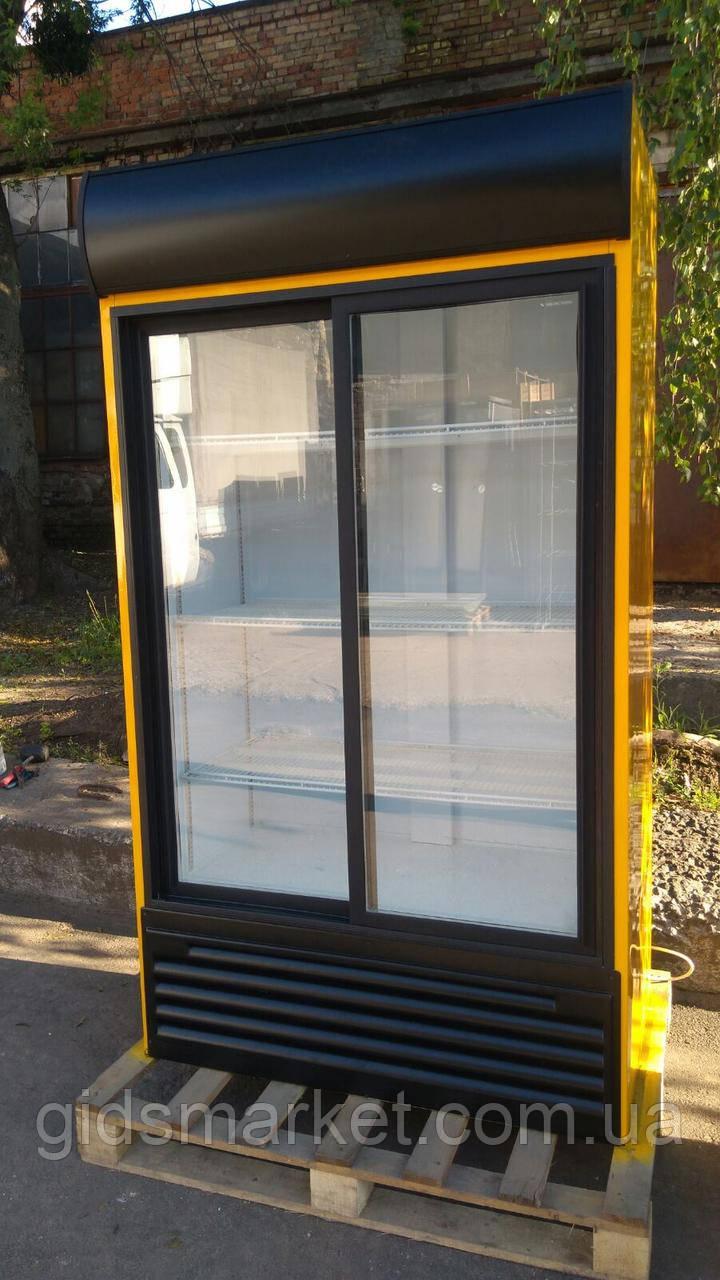 Холодильный шкаф Klimasan 900 л., холодильник для напитков б/у