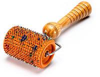Аппликатор Ляпко Валик 3,5 Ag Универсальный для шеи спины ног от целлюлита для похудения Оранжевый