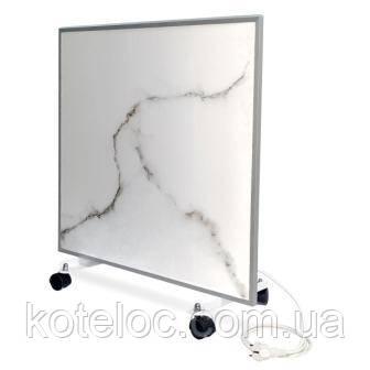Керамический обогреватель Ecoteplo 400 Вт белый мрамор с электронным терморегулятором, фото 2