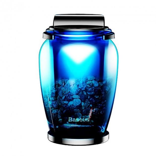 Автомобильный ароматизатор Baseus Zeolite Car Fragrance Black (AMROU-01)