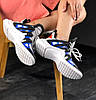 Женские кроссовки Louis Vuitton Archlight White/Black/Blue (в стиле Луи Витон) белые, фото 4