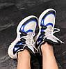 Женские кроссовки Louis Vuitton Archlight White/Black/Blue (в стиле Луи Витон) белые, фото 6