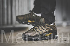 Мужские кроссовки Nike Air VaporMax Plus Cargo Khaki Найк Вапормакс Плюс хаки, фото 3