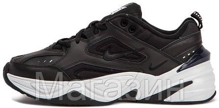Мужские кроссовки Nike M2K Tekno Black/White AO3108-003 (Найк Текно) черные, фото 2