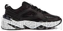 Мужские кроссовки Nike M2K Tekno Black/White AO3108-003 (Найк Текно) черные, фото 3