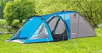 Палатка туристическая Presto Soliter 4 3500 мм сине-серая