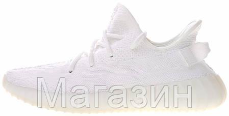 "Мужские кроссовки adidas Yeezy Boost 350 V2 ""White"" Адидас Изи Буст 350 белые, фото 2"