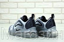 Мужские спортивные кроссовки Nike Air Max 720 Grey (Найк Аир Макс 720) серые, фото 2