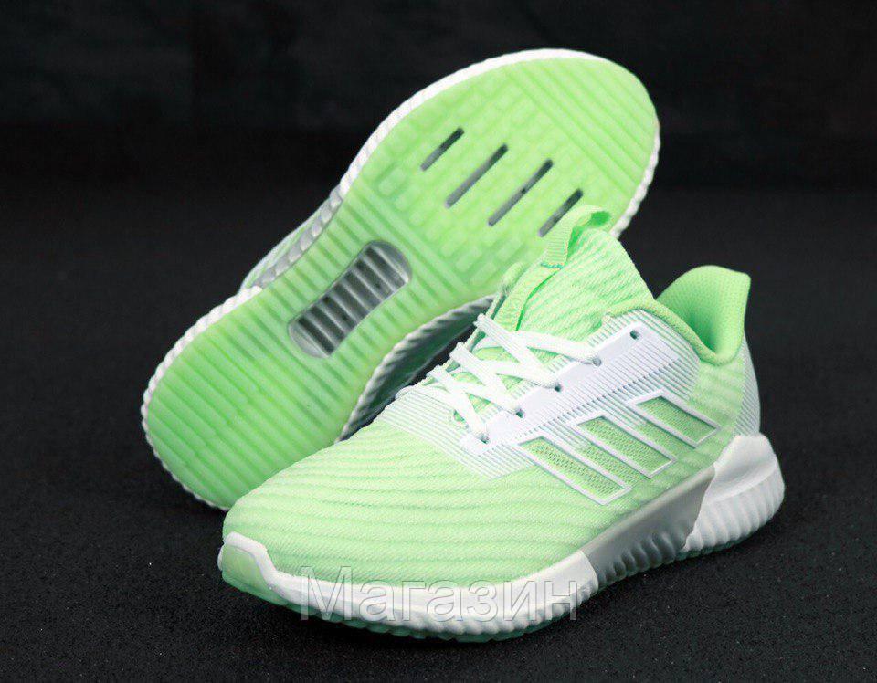 "Женские кроссовки adidas ClimaCool 2.0 ""Green"" (Адидас Климакул, Адідас Клімакул) светло-зеленые"