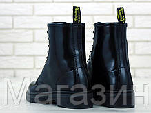 Женские ботинки Dr. Martens 1460 Black Доктор Мартинс черные БЕЗ МЕХА, фото 3