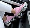 Женские кроссовки Adidas Ozweego Raf Simons Pink/Silver Metallic Адидас Раф Симонс Озвиго розовые, фото 2