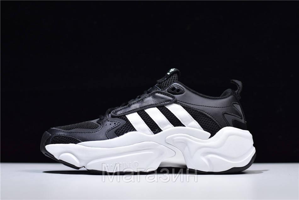 Мужские кроссовки Naked x adidas Magmur Runner Consortium Black Aдидас черные