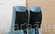 Женские кроссовки ботинки Puma Chelsea Sneaker Boot Fenty Rihanna Blue высокие Пума Фенти голубые, фото 3