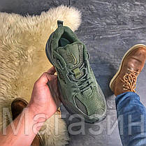 Женские кроссовки Nike M2K Tekno Sequoia Linen Green Найк Текно, фото 3