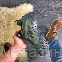 Женские кроссовки Nike M2K Tekno Sequoia Linen Green Найк Текно, фото 2