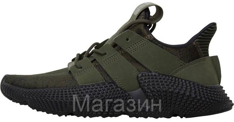Мужские кроссовки Adidas Prophere Olive Black Адидас хаки