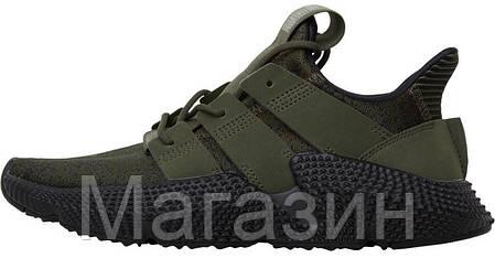 Мужские кроссовки Adidas Prophere Olive Black Адидас хаки, фото 2