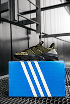 Мужские кроссовки Adidas Prophere Olive Black Адидас хаки, фото 3